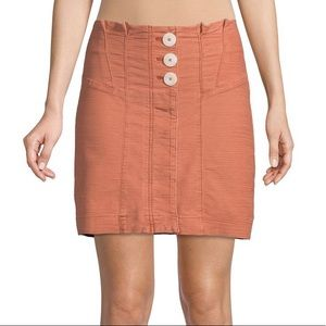 NWOT Free People Mini Skort